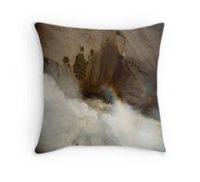 Holga falls Throw Pillow