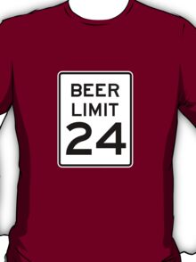 BEER LIMIT 24 T-Shirt