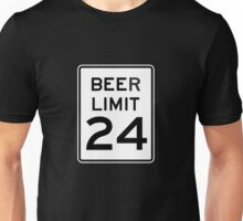 BEER LIMIT 24 Unisex T-Shirt