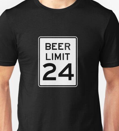 BEER LIMIT 24 Unisex T-Shirt