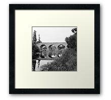 Summer, Richmond Bridge—Tasmania Framed Print