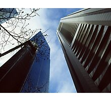 Skyscrapers and the sky Photographic Print