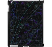 USGS Topo Map Oregon Gervais 280015 1957 24000 Inverted iPad Case/Skin