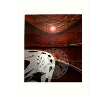 A Day at the Arena Art Print