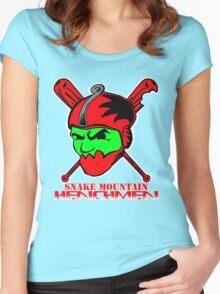 Snake Mountain Henchmen Women's Fitted Scoop T-Shirt