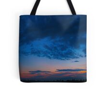 India Ink and paintbrush nights Tote Bag