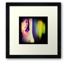 coloured thoughts Framed Print