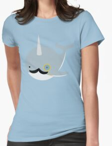 Sir Narwhal Womens Fitted T-Shirt