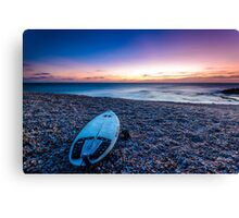 The Surfboard Canvas Print