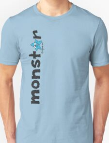 Monster Blue Star Text Graphic  Unisex T-Shirt