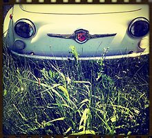 Smiling Fiat 500 Abarth by Colin Leal