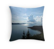 Bay of Nipigon, Nipigon, Ontario Canada Throw Pillow