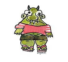 Funny Cartoon MonSTAR Monster 001 Photographic Print