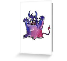 Funny Cartoon MonSTAR Monster 002 Greeting Card