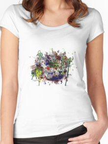 Welcome to chaos Women's Fitted Scoop T-Shirt