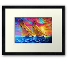 Magnificient Sea Framed Print