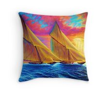 Magnificient Sea Throw Pillow