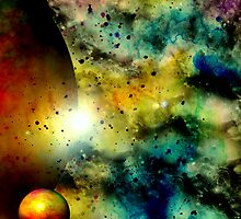 Galaxy of Colours by Vanessa Barklay