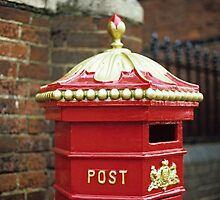 Victorian Post Box by Kasia Nowak