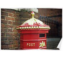 Victorian Post Box Poster