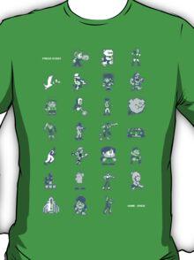 A - Z of 8-bit video games T-Shirt