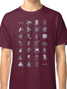 A - Z of 8-bit video games Classic T-Shirt