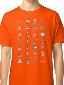 A - Z of 8-bit video games Classic T-Shirt