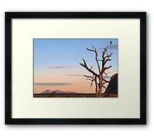 Call to Morning Framed Print