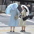 Thoughtful Nuns in Nagasaki  by Sunny Shaffner