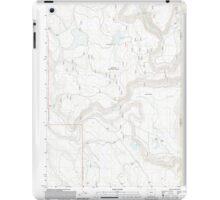 USGS Topo Map Oregon Barnes Valley 20110727 TM iPad Case/Skin