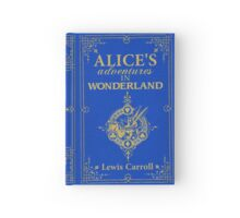 Alice in Wonderland Hardcover Journal