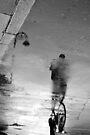 Dublin rain reflections by Esther  Moliné