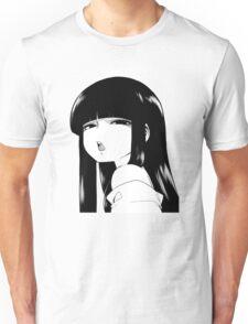 Black Haired Girl Unisex T-Shirt