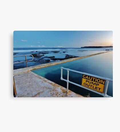Pump House Baths  Canvas Print