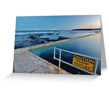 Pump House Baths  Greeting Card