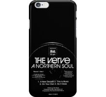 A Northern Soul Record Stamp iPhone Case/Skin