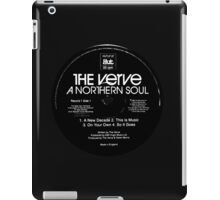 A Northern Soul Record Stamp iPad Case/Skin