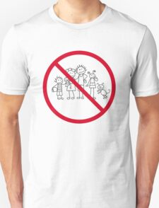 Ban the fam(stickers) T-Shirt