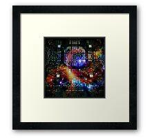 Cosmic Electronics Framed Print