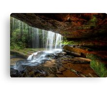 Under The Ledge Canvas Print