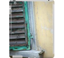 Green Shutter iPad Case/Skin