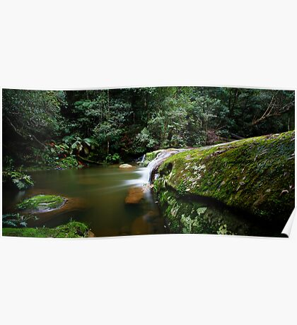 A Parallel View - Somesby Falls Poster