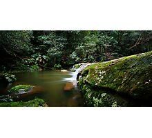 A Parallel View - Somesby Falls Photographic Print