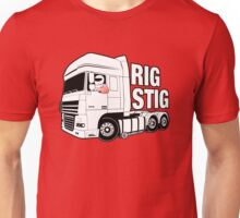 Top Gear - Rig Stig. The Stig's Lorry Driving Cousin Unisex T-Shirt