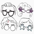 Famous Glasses by loandbehold