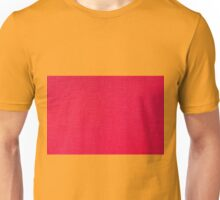 Red textured plastic structure abstract Unisex T-Shirt