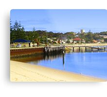 Jetty at Port Vincent Metal Print