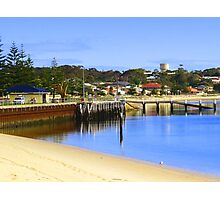 Jetty at Port Vincent Photographic Print