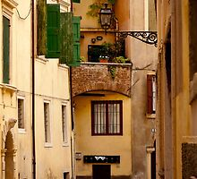 Alleyway in Verona by Rae Tucker