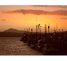 Wharf at Sunset - Eden Australia Photographic Print